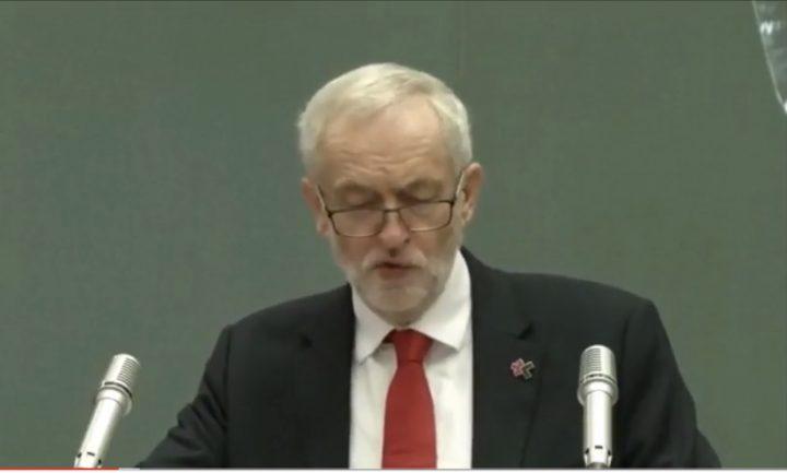 Discurso de Jeremy Corbyn en la sede de la ONU en Ginebra