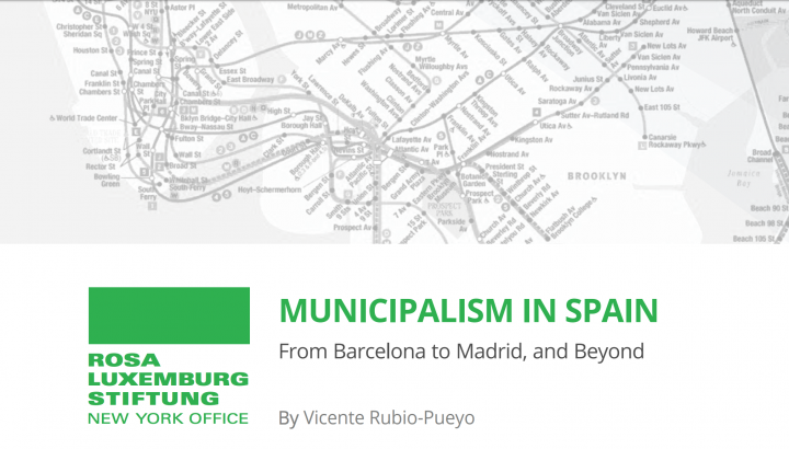 Study on Municipalism in Spain for RLS-NYC
