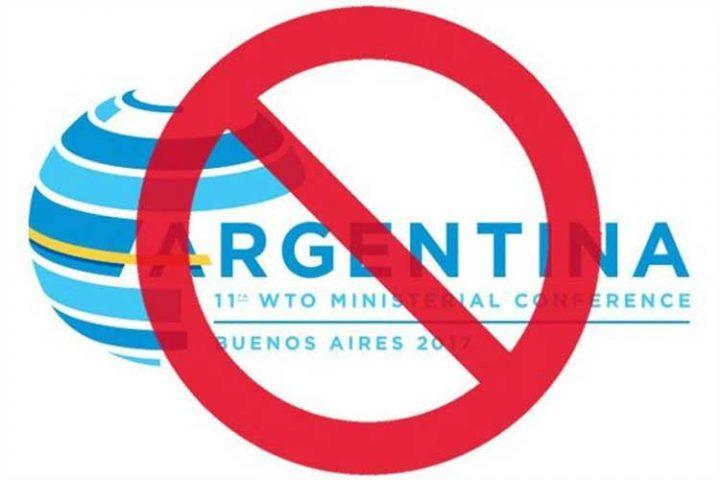 L'interdiction de la participation de la société civile à l'OMC par l'Argentine est inacceptable