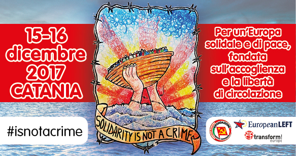"""Catania, """"Solidarity is not a crime"""""""