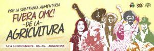 La Vía Campesina: ¡Fuera OMC de la Agricultura!