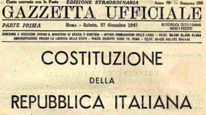 70 anni fa, la Costituzione