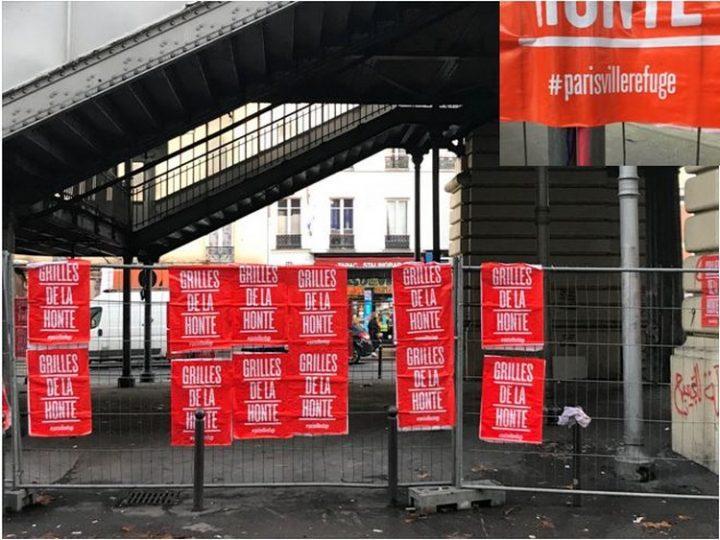 [Paris – « grilles de la honte »] Pas en notre nom !