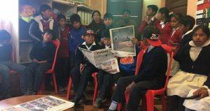 Les enfants syndiqués de Potosí