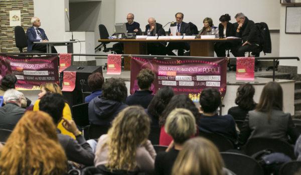 La sentenza del Tribunale Permanente dei Popoli a Palermo