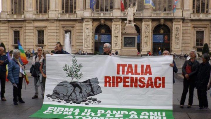 """Senzatomica e Rete Disarmo con Daniel Högsta di ICAN lanciano la nuova fase di azione per il disarmo nucleare: """"Italia Ripensaci!"""""""