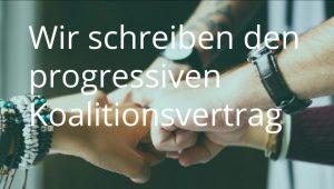Demokratie in Bewegung: Wir schreiben den progressiven Koalitionsvertrag