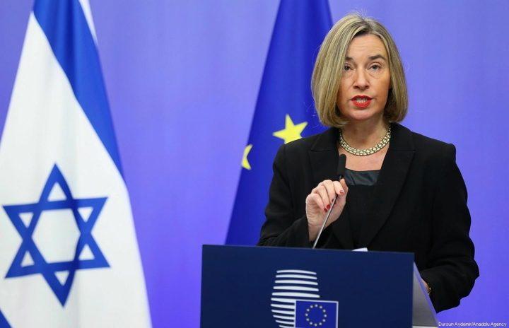 Jordan FM, EU's Mogherini discuss Jerusalem