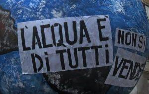Appello al popolo dell'acqua: diritto alla vita