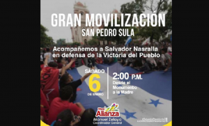 Haute tension au Honduras avec des menaces de répression et d'expulsion