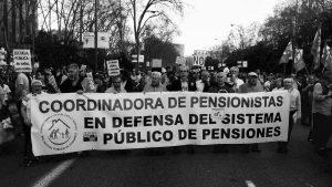 Con el dinero que el gobierno español roba a los pensionistas, rescatan a las autopistas