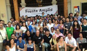 El Frente Amplio celebra su primer aniversario con Beatriz Sánchez y los diputados electos