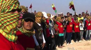 Con la popolazione di Afrin contro l'aggressione turca