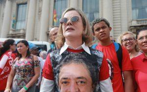 """Presidenta del PT: """"Las mujeres no huyen de la lucha»"""
