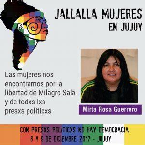 Denuncian apremios ilegales en el allanamiento a la vivienda de Mirta Guerrero