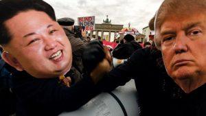 """Kim und Trump: """"Potenzvergleiche Halbstarker"""""""