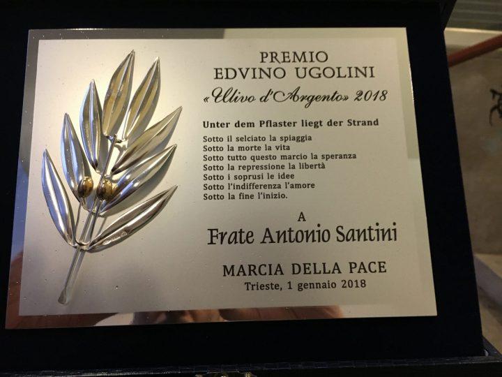 Pioggia e vento sulla Marcia della Pace a Trieste