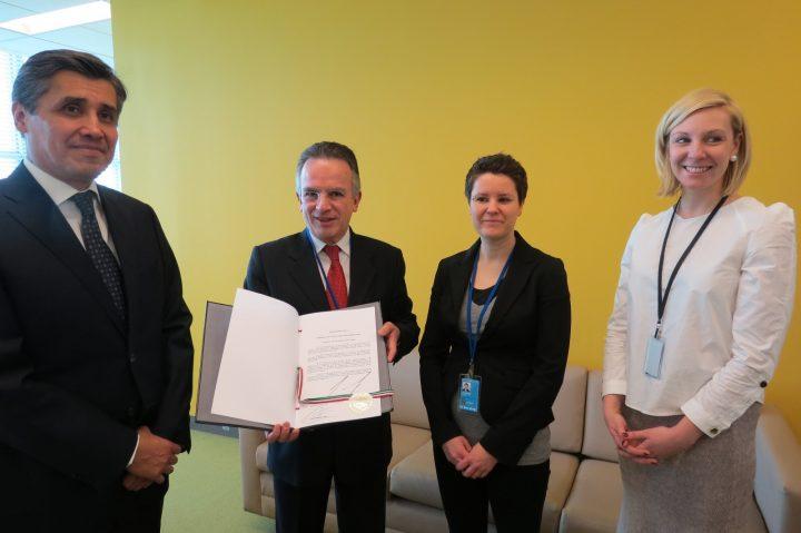Il Messico presenta la ratifica del Trattato di Proibizione delle Armi Nucleari all'Onu