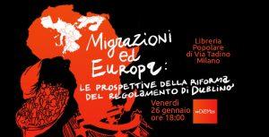 Migrazioni ed Europa: le prospettive della riforma del regolamento di Dublino