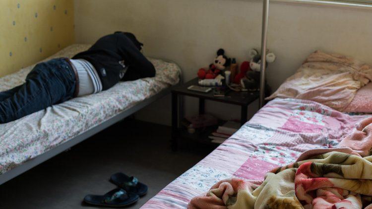 Chambre de 2 migrants à Epinal