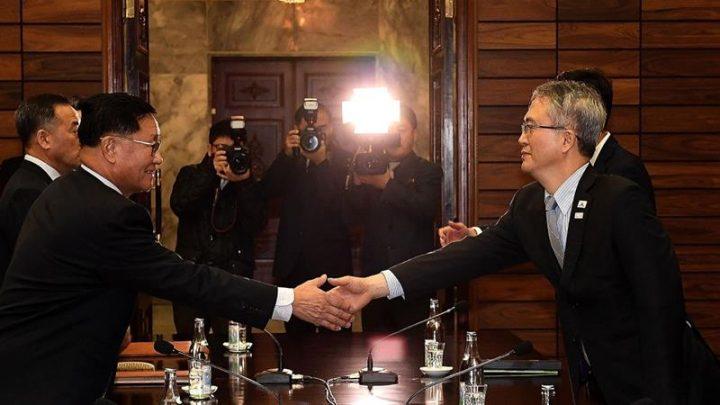 Aproximação das Coréias