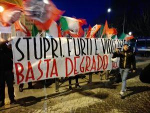 Roma, sit-in CasaPound: la riflessione di chi è stato aggredito