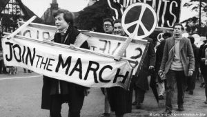 Das Peace-Zeichen wird 60 Jahre alt