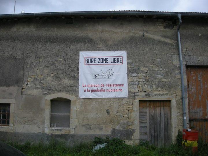 Non aux expulsions à Bure. Pour l'abandon du projet CIGEO (Centre industriel de stockage géologique)