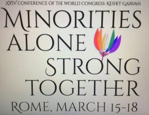 Rome, XXIVe Congrès mondial des juifs LGBT