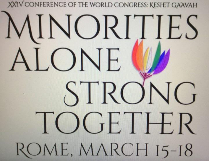 Roma, XXIV Conferenza del World Congress of LGBT Jews