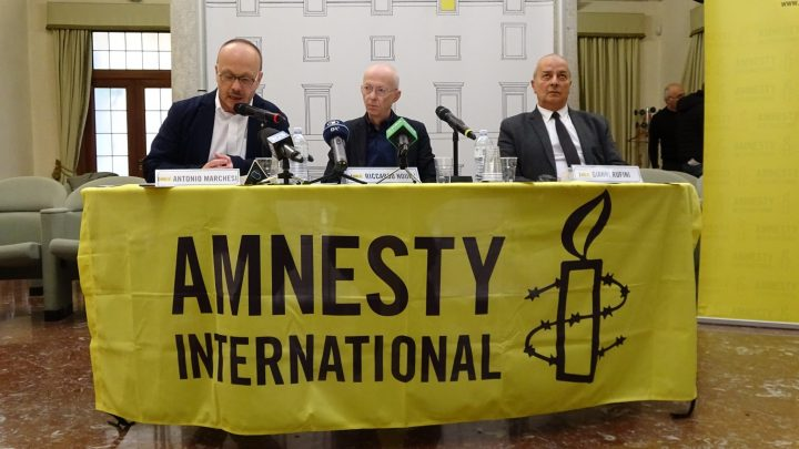 Rapporto 2017-2018 di Amnesty International, intervista al Presidente Antonio Marchesi