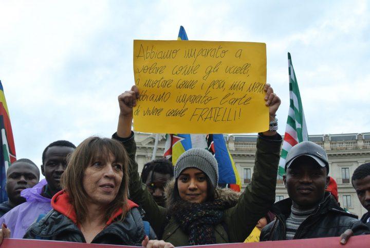 "Roma, in corteo da tutta Italia per dire ""mai più fascismi, mai più razzismi"""