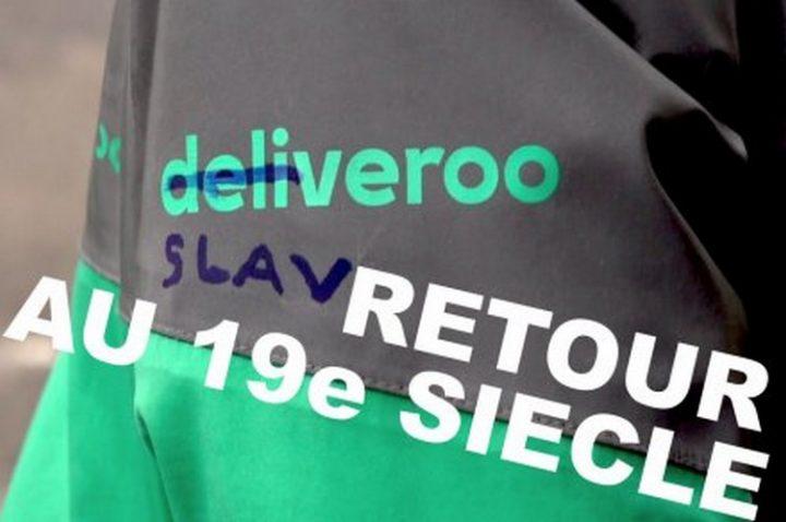 Deliveroo, retour au 19ème siècle