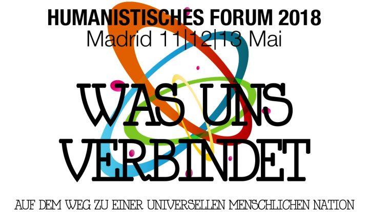 Was steckt hinter dem Logo des Europäischen Humanisten Forums? Solidarität, Hoffnung, Frieden, Toleranz und Kreativität