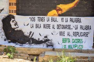 Honduras: Invitación del COPINH a 2 años de la siembra de Berta