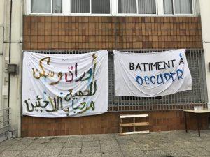 Un bâtiment de Paris 8 occupé pour accueillir des migrants