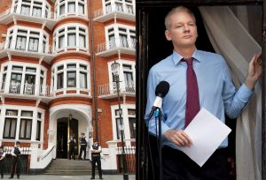 Julian Assange And His Doppelganger