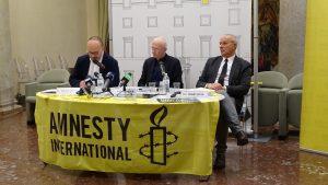 """Roma, presentato il rapporto 2017-2018 di Amnesty International e campagna """"Conta fino a 10"""