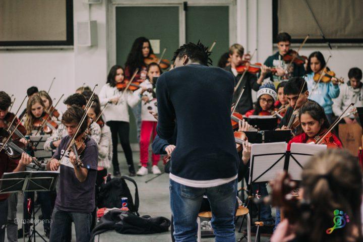 Orquestas Infantiles del Perú y Argentina conquistan la ONU en Italia