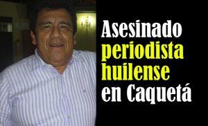 Colombia, dura condanna per l'uccisione di un giornalista