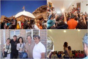 Rencontre annuelle du Message de Silo, Parc de Punta de Vacas, janvier 2018