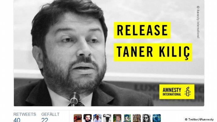 Dopo 8 mesi di carcere, rilasciato il presidente di Amnesty Turchia