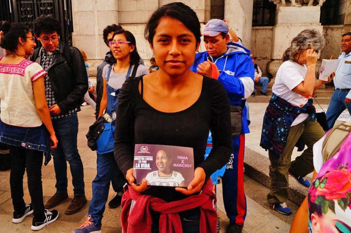 """Marichuy: """"Este México nos pertenece"""""""
