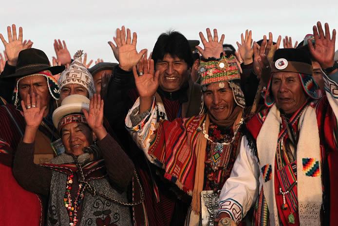 Η διαδικασία αλλαγής στη Βολιβία: μόλις δώδεκα χρόνια έναντι αιώνων ταπείνωσης