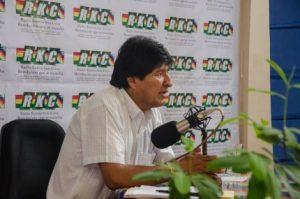Evo Morales chiede all'UNASUR una riunione urgente sulle minacce al Venezuela