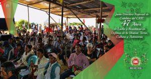 Indígenas del Cauca colombiano celebran 47 años de vida organizada