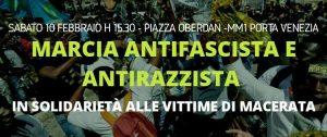 Da Macerata a Milano: non è tempo di abbassare i toni, ma di prendere parola e agire