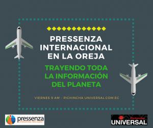 Pressenza Internacional En la Oreja 09/02/2018: Liberia y Costa Rica