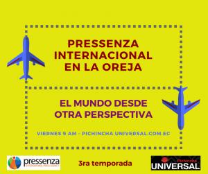 Pressenza Internacional En la Oreja 16/02/2018