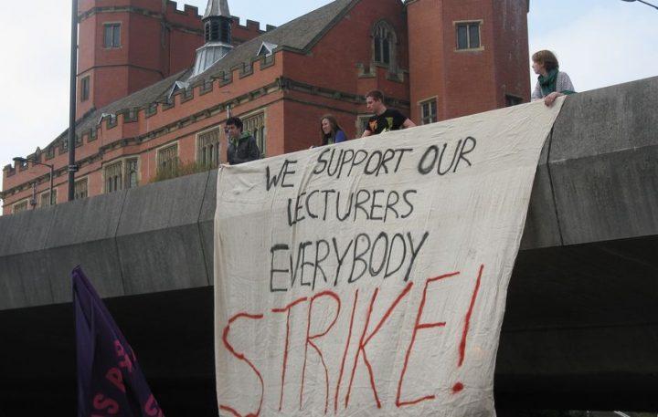 Regno Unito: uno sciopero di 14 giorni in 61 università